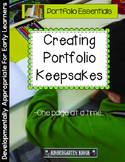 Creating a Portfolio Keepsake: Measuring Growth One Sample