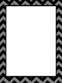 Portrait Chevron Borders for Newsletters