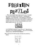 Position Puzzles