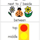 Position Words Posters