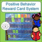 Positive Behavior Classroom Card Chart