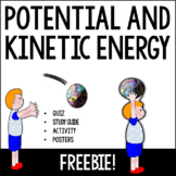 Potential and Kinetic Energy Packet *Assessment, Study Gui