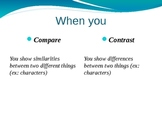 PowerPoint Presentation: Compare and Contrast Essay Writing