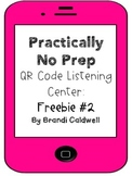 Practically No Prep QR Code Listening Center: Freebie #2