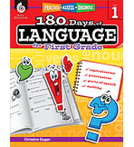 Practice, Assess, Diagnose: 180 Days of Language for First Grade