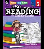 Practice, Assess, and Diagnose: 180 Days of Reading: Grade 5