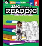 Practice, Assess, and Diagnose: 180 Days of Reading: Grade 6
