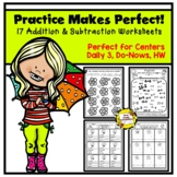 Practice Makes Perfect: Addition and Subtraction Worksheets