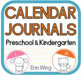 Calendar Journals for Preschool and Kindergarten