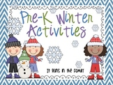 Pre-K Winter Activities: Literacy and Math