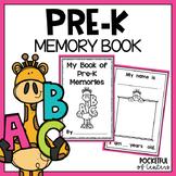 PreK & Preschool Memory Book