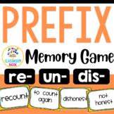 Prefix Match-Up Game (re, un, dis)