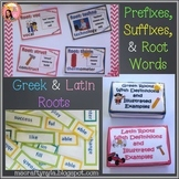 Prefixes Suffixes and Greek and Latin Roots - Bundle