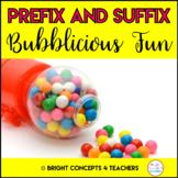 Prefix and Suffix Bubblicious Fun! {Common Core Aligned}