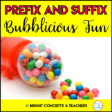 Prefix and Suffix Bubblicious Fun! {Common Core Aligned}