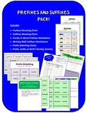 Prefixes and Suffixes Pack