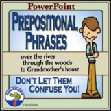 Prepositional Phrases - Don't Let Them Confuse You PowerPoint