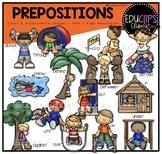 Prepositions Clip Art Bundle