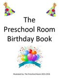 Preschool Birthday Book Monthly Covers