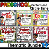 Preschool Centers and Circle Time Units - Bundle #1