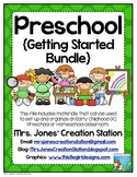 Preschool {Getting Started Bundle}