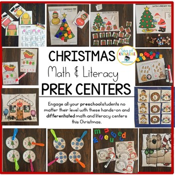 Preschool & Kindergarten Christmas Activities & Stations