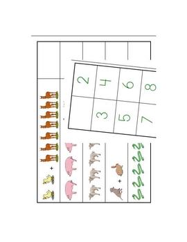 Preschool Kindergarten File Folder Games Bundle 2 - 10 Games