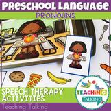 Preschool Speech Therapy Activities: Printable Materials -