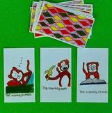 Present Tense Verbs Game:  ESL and Oral Language Development