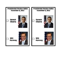 Presidential Election Mock Ballot