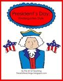 President's Day: Kindergarten Style