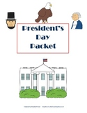 President's Day Literacy & Math Packet