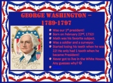 President's Day PPT - George Washington, Abraham Lincoln & More