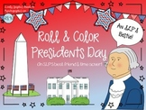 Presidents Day Roll & Color/Cover: Articulation & Language