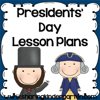 Presidents' Day Unit Plans