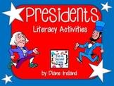 Presidents Literacy Activities