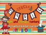 Presto! Magic Kindergarten Math and Literacy Centers