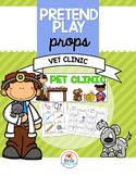 Pretend Play Props Vet Clinic