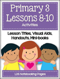 Primary 3 - Lessons 8-10