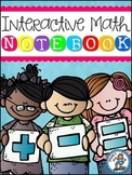 Primary Interactive Math Notebook {For the Whole Year!}