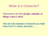 Primary Introduction to Character