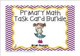 Primary Math Task Card Bundle