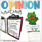 Primary Persuasive/Opinion Writing Unit Correlated with Co