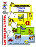 Primera Letra Flip Books