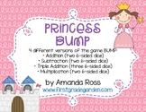 Princess BUMP Math Game {Addition & Subtraction}