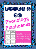 Print And Go Phonology Flashcards