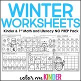 January Print it! Math & Language Arts Pack