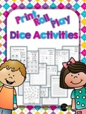 Print, Roll, and Play Dice Activities