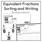 Equivalent Fractions (Print, Solve, & Explain)