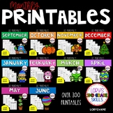 Print it and Teach Bundle